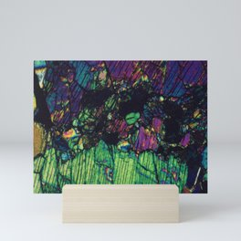 Pyroxene Crystals Mini Art Print