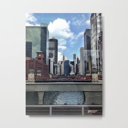 Colors of the Windy City Metal Print