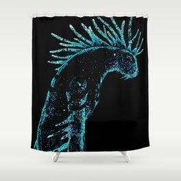 Deer god Shower Curtain
