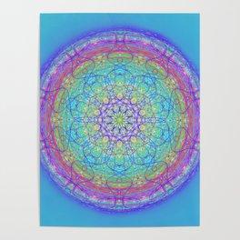 Doodle Mandala 0119 Poster