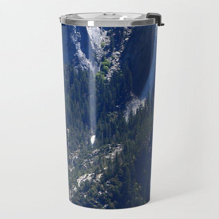 Vernal Falls And Nevada Falls Travel Mug