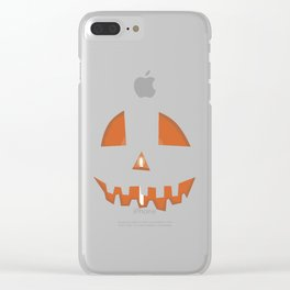jack o Clear iPhone Case