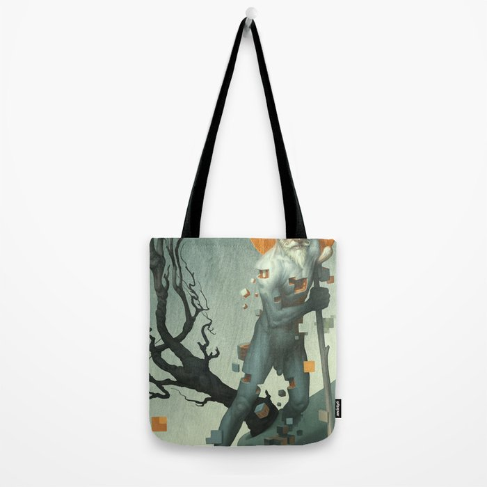 Aboard a Dying Construct Tote Bag