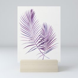 Purple Palms Mini Art Print