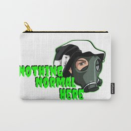 """Show your support """"Nothing Normal Here Logo"""" Carry-All Pouch"""