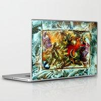 metallic Laptop & iPad Skins featuring Metallic by Vargamari