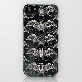 White Bats iPhone Case