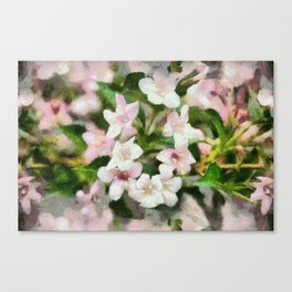 Ring Around The Rosies Canvas Print