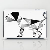 the hound iPad Cases featuring Hound by LAGOM
