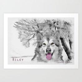 Riley From Amraa  Art Print