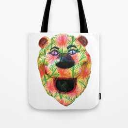 Shiny Happy Lion Tote Bag