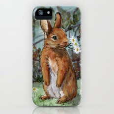 Funny rabbits - Daisies For You 550 Slim Case iPhone (5, 5s)