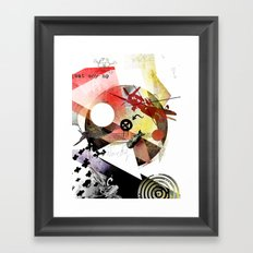 Just Say No (To War) Framed Art Print
