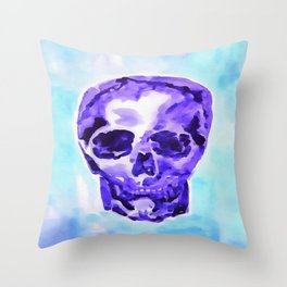 Got The Blues Throw Pillow