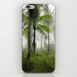 Foggy Palm Forest iPhone Skin