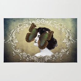 La Femme Papillon Rug