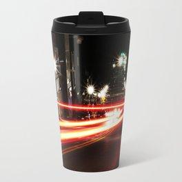Light Streaks Travel Mug
