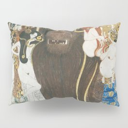 Beethoven Frieze Gustav Klimt Pillow Sham