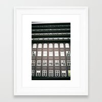 chile Framed Art Prints featuring chile house by denizerdem