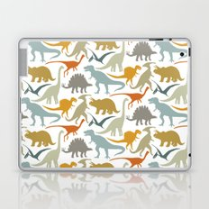 Dinosaur Friends Laptop & iPad Skin