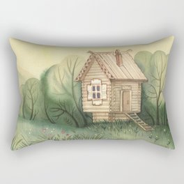 small hut Rectangular Pillow