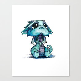 Baby Dragon Canvas Print