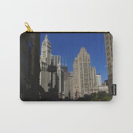 Michigan Avenue Sunshine and Shadows (Chicago Architecture Collection) Carry-All Pouch