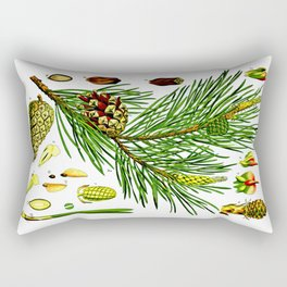 Pinus sylvestris Rectangular Pillow