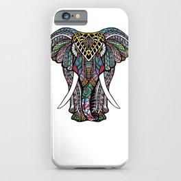Mandala Ganesha African Elephant   iPhone Case