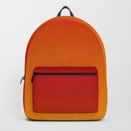 Red Orange Gradient Backpack