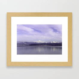 Bellingham from afar Framed Art Print