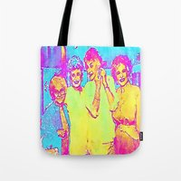 golden girls Tote Bags featuring Golden Girls by americanmikey
