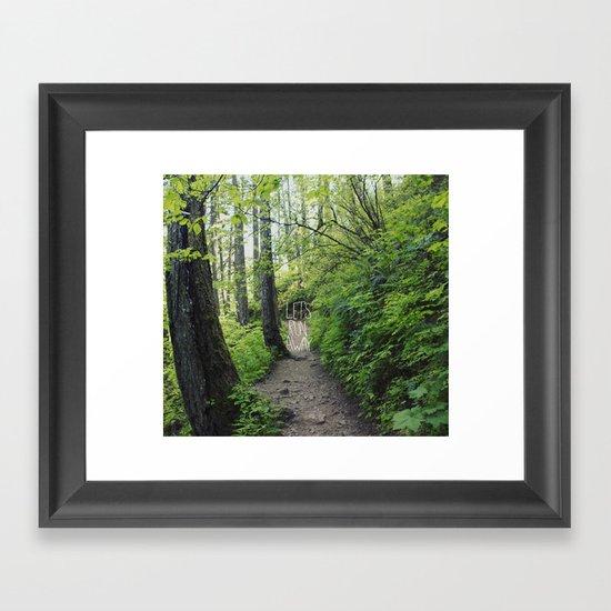 Let's Run Away VII Framed Art Print