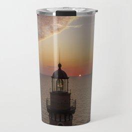 Little Sable Sunset #3 Travel Mug
