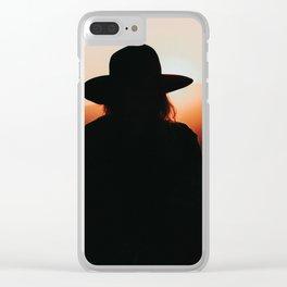 California Stranger Clear iPhone Case