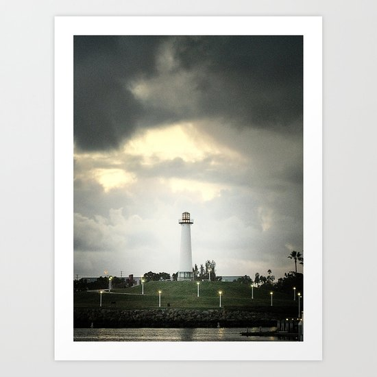 Lions Lighthouse ~ Stand By Art Print