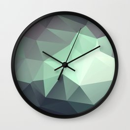 geometric I Wall Clock