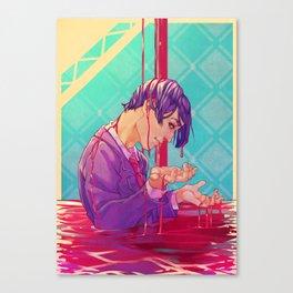 TSUKIYAMA SHUU Canvas Print