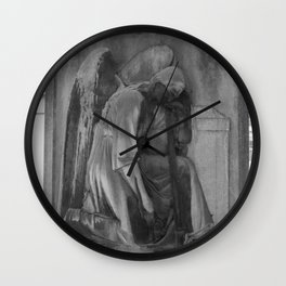 ancient angel Wall Clock