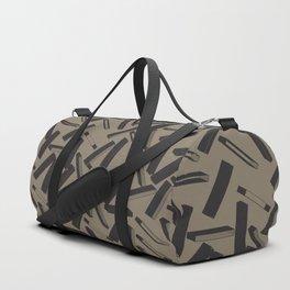 3D X Pattern Duffle Bag