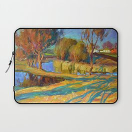 Spring in the village Laptop Sleeve
