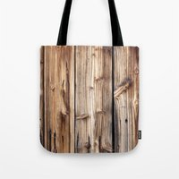 wood Tote Bags featuring Wood by Patterns and Textures