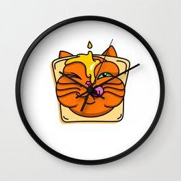 Honey&Toast Puss Wall Clock