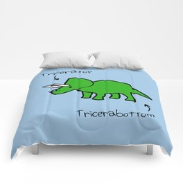 Triceratops Tricerabottom Comforters