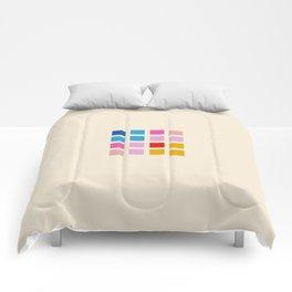 Retro Squares 01 Comforters