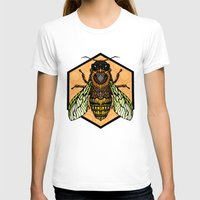 bee T-shirts featuring Bee by Graham Diehl