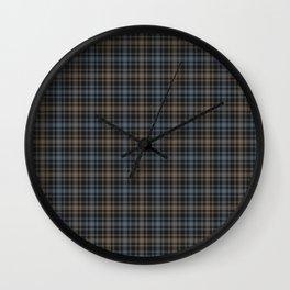 Beautiful plaid 4 Wall Clock