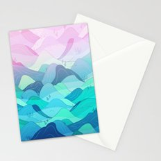 Sunrise at Nishizawa Valley Stationery Cards