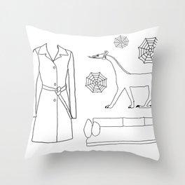 La Calor Throw Pillow