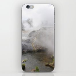 Steam in New Zealand iPhone Skin